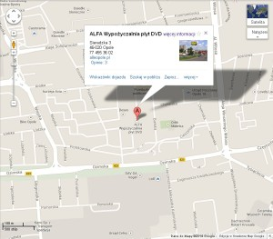 Mapa Google Sklep ALFA   Sprzedaż i wymiana gier na konsole Xbox 360 Ps4 Ps3 Ps2 Psp Nintendo Pc Wypożyczalnia filmów DVD